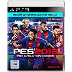 PES 2018 / Premium Edition / [PlayStation 3]